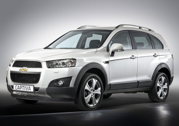Gm India Launches New Chevrolet Captiva Suv At Rs 18 74 Lakh