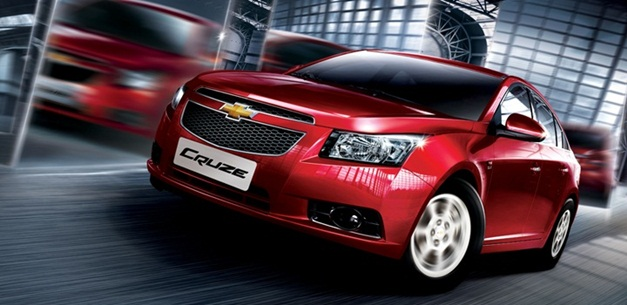 New Chevrolet Cruze - FrontView