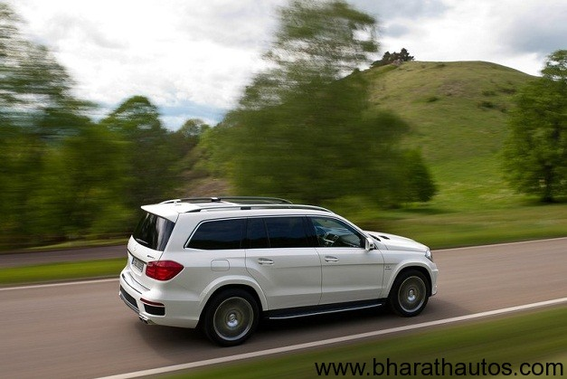 2012 Mercedes-Benz GL63 AMG - RearView