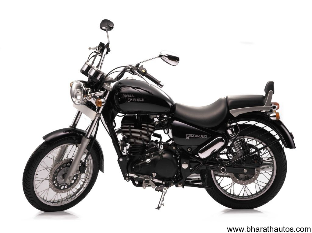 Spied Royal Enfield Thunderbird 500 Caught In Lens At
