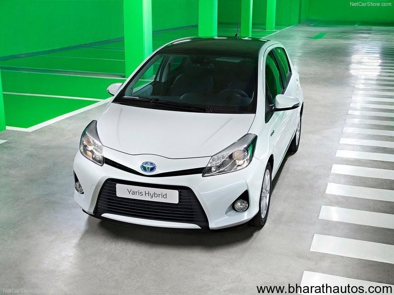 Toyota Yaris Hybrid (2013)