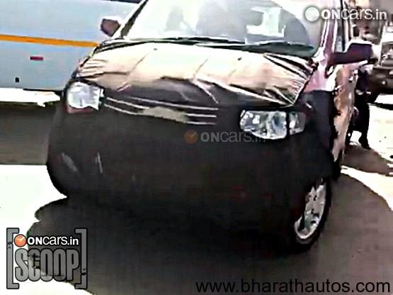 Chevrolet Enjoy Mpv Frontview Bharathautos Automobile News Updates