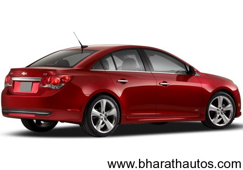 Chevrolet Cruze - RearView