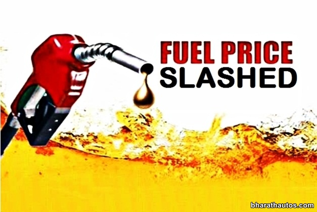 Petrol prices slashed by Rs. 2.46 per litre