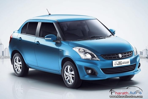 Maruti Swift Dzire -  FrontView