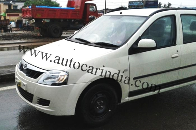 New Mahindra Verito undisguised front snap