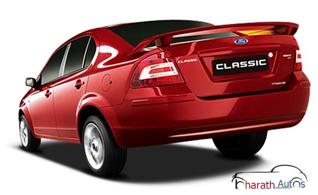 Ford Classic sedan - RearView