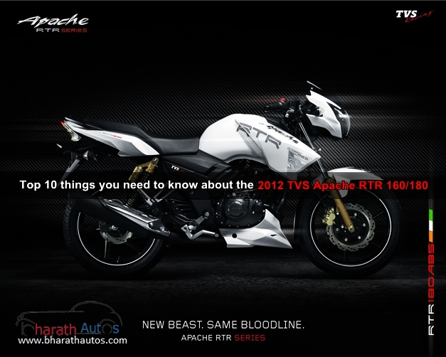2012 TVS Apache RTR 180 ABS
