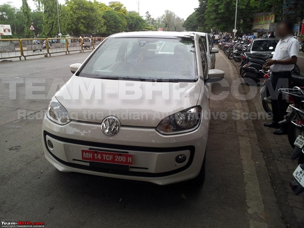 Volkswagen Up! 5-door hatch - FrontView