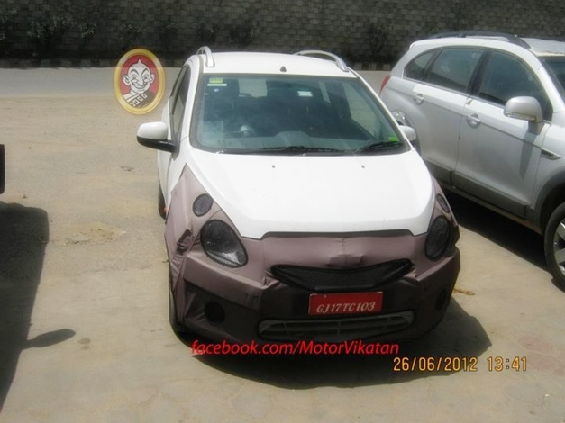 Spied 2013 Chevrolet Beat facelift - 001