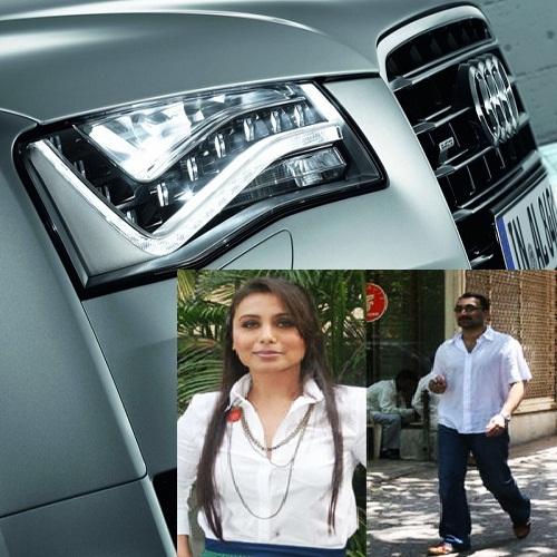 Aditya Chopra gifts Rani Mukerji Audi A8 L sedan