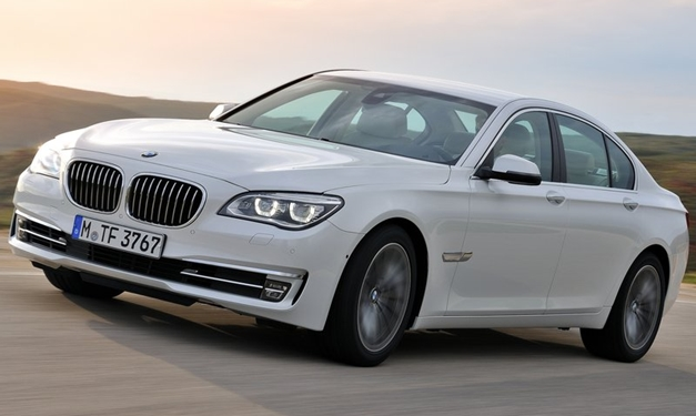 BMW 7-Series (2013) - FrontView