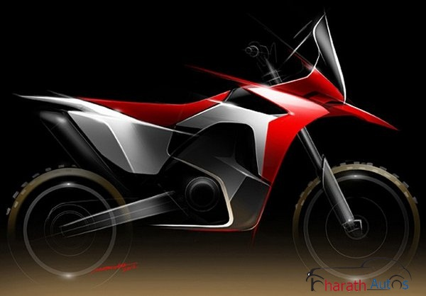 Honda CRF450X prototype race bike