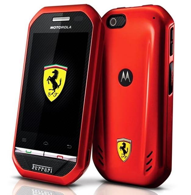Motorola i867 Ferrari Smartphone - 001