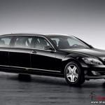 Mercedes-Benz S600 Pullman Guard - 001