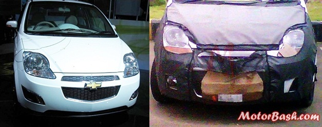New Chevrolet Spark facelift