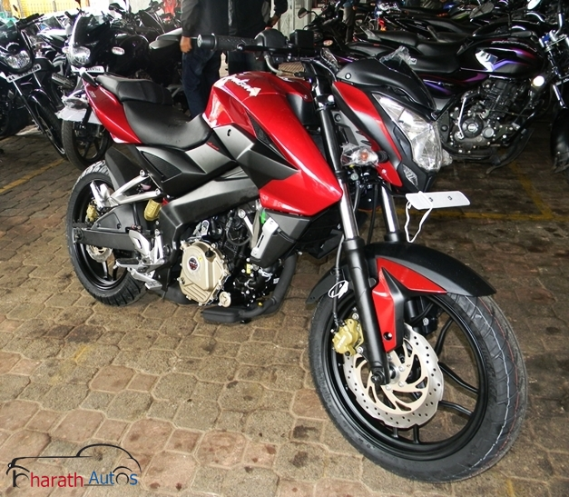 Pulsar 200NS - FrontView