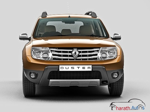 Renault Duster - FrontView