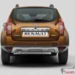 Renault Duster - RearView