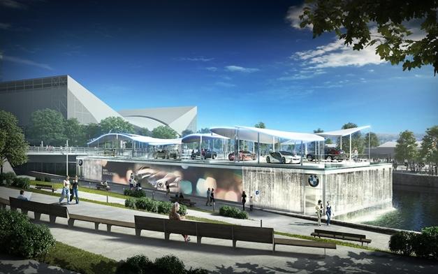 BMW's Olympic Pavilion  - 007