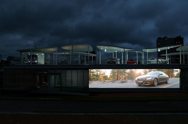 BMW's Olympic Pavilion  - 001