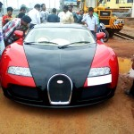 Honda City converted into Bugatti Veyron - 001