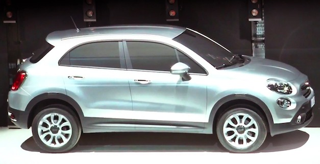 Fiat 500X crossover revealed