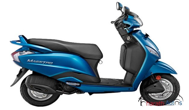 Hero Maestro 110cc automatic scooter