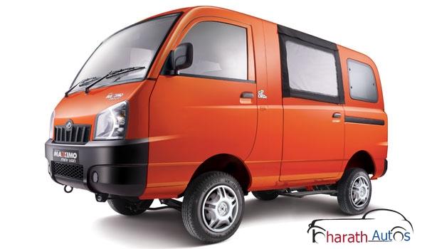 Mahindra Maxximo Hard Top Van - FrontView