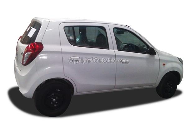 New Maruti Alto 800 hatchback - RearView