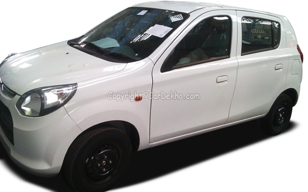 New Maruti Alto 800 hatchback - FrontView