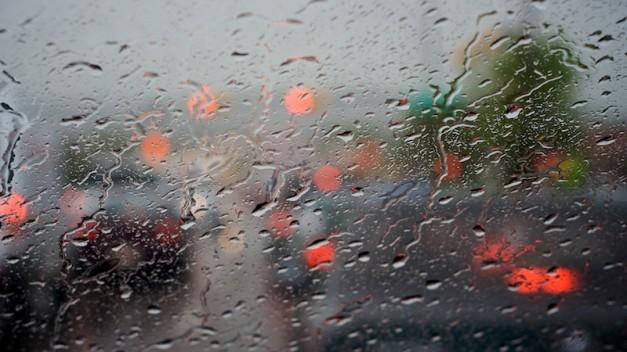 Rainy Windshield