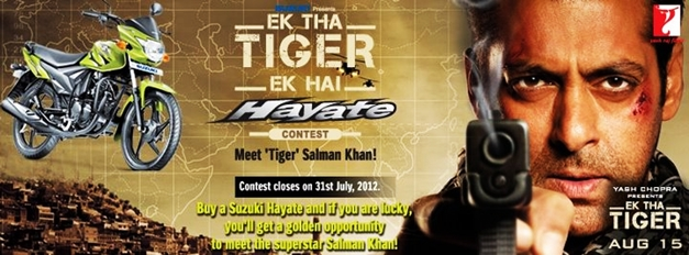 Salman Khan AD with Suzuki Hayate TVC feat  on bollybuzz