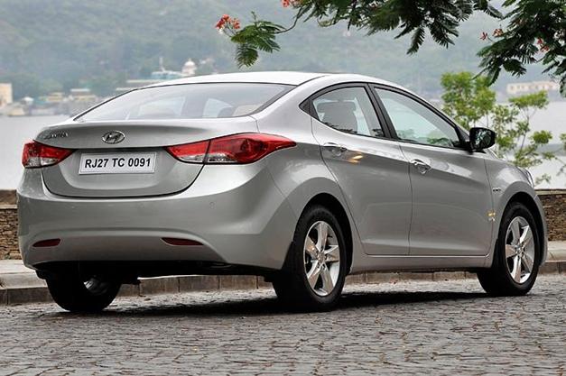 New Hyundai Elantra - RearView