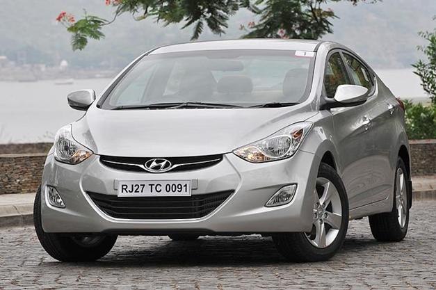 New Hyundai Elantra - FrontView