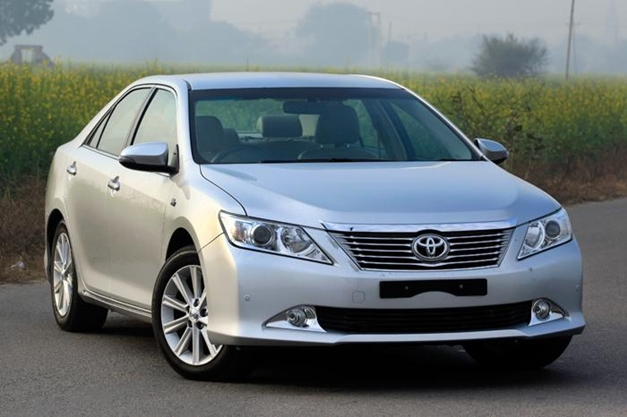 New Toyota Camry - FrontView