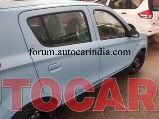 New Maruti Alto 800 - SideView