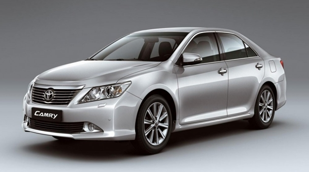 All New Toyota Camry - FrontView