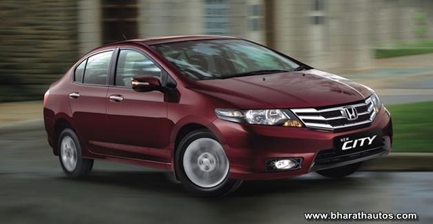Honda City CNG variant - FrontView