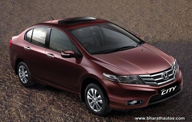 New Honda City - FrontView