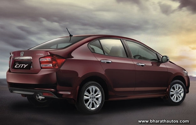 New Honda City - RearView