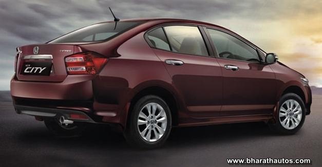 Honda City CNG variant - RearView