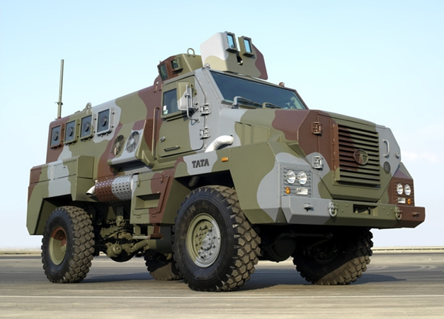 Tata Mine Protected Vehicle - RightsideView