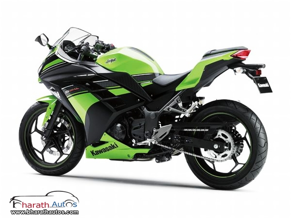 2013 Kawasaki Ninja 250R - RearView