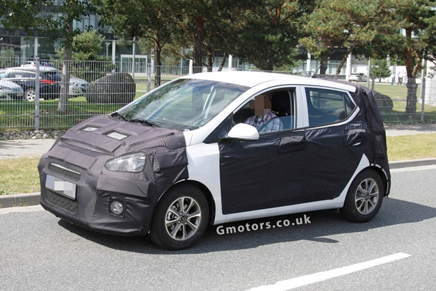 Spied - 2014 Hyundai i10 caught testing in Germany