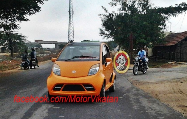 Mystery Tata Nano (Racing Inspired Design)