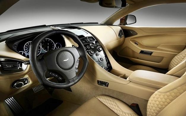 Aston Martin Vanquish - Interior