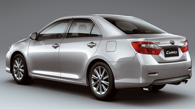 All New Toyota Camry - RearView