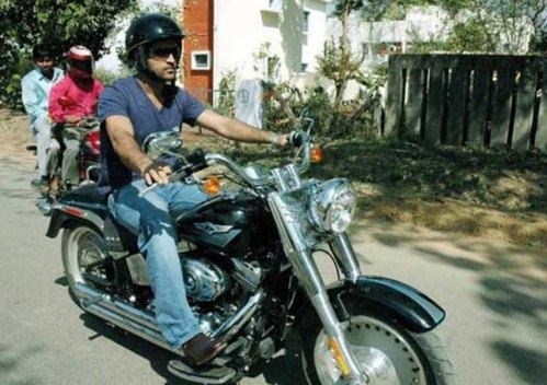 MS Dhoni launches his bike racing team