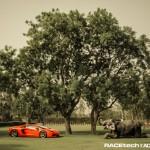 Lamborghini Aventador with an Elephant - 001